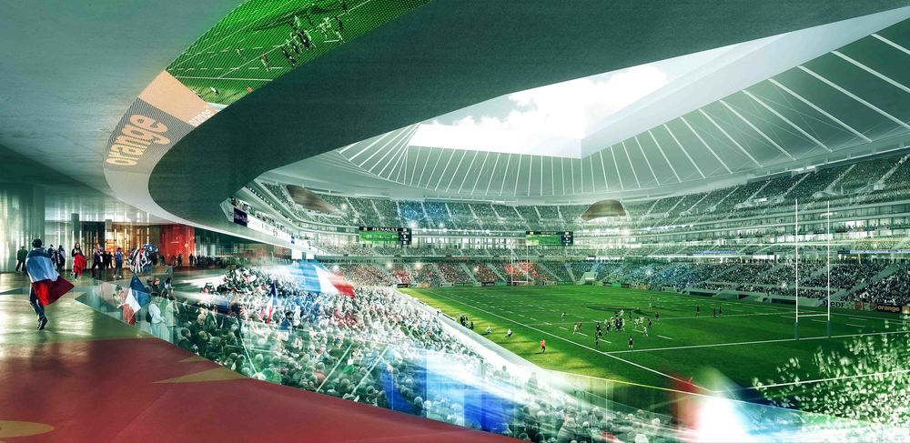 image de couverture de Grand Stade de rugby de la FFR à Ris-Orangis / Bondoufle
