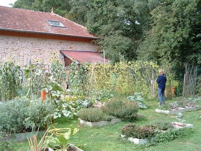 le jardin de la Maison de l'Environnement