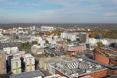 Le centre urbain d'Évry