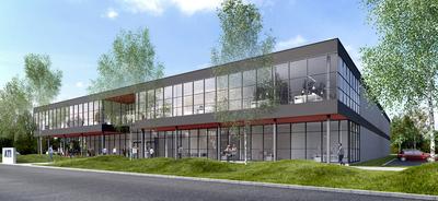 Nouveaux locaux d'ATI-INTERCO construits par GEFEC à Lisses