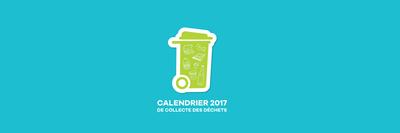 image de couverture de Calendriers de collecte des déchets 2017