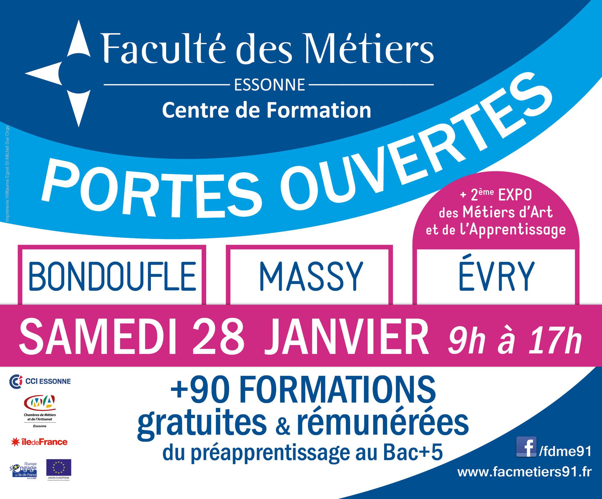 La Faculté des Métiers de l Essonne vous ouvre ses portes