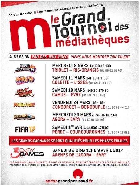 image de couverture de Le Grand tournoi des médiathèques
