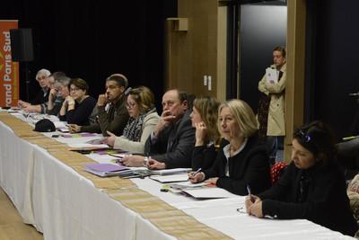 La réunion d'information requalification du Bois Briard