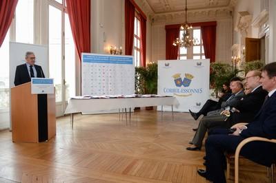 Signature du nouveau programme de renouvellement urbain à Corbeil-Essonnes