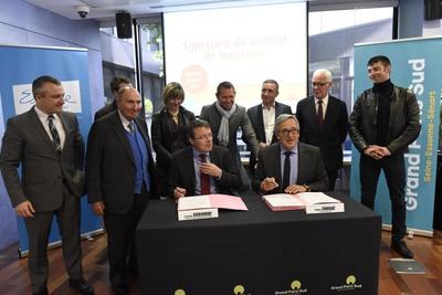 Signature du Contrat de Territoire