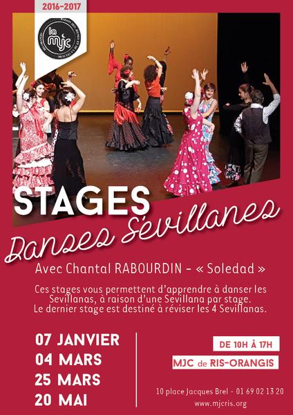 image de couverture de Stage de Danses Sévillanes