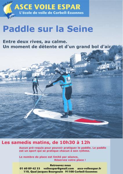 image de couverture de Paddle sur Seine