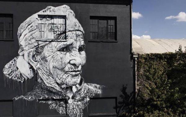 image de couverture de Réalisation d'une nouvelle oeuvre street art d'ECB  à Evry