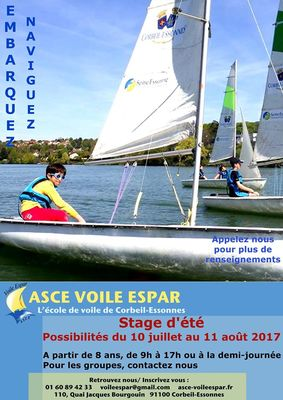 image de couverture de VOILE - Stages estivals