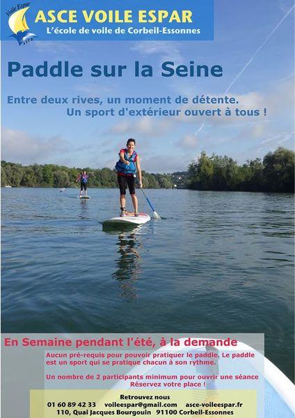image de couverture de Paddle sur la Seine