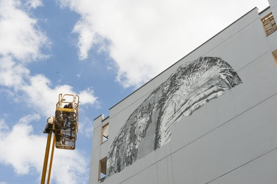 "image de couverture de Inauguration de l'oeuvre d'Hendrik Beikirch dit ECB ""Darya"""