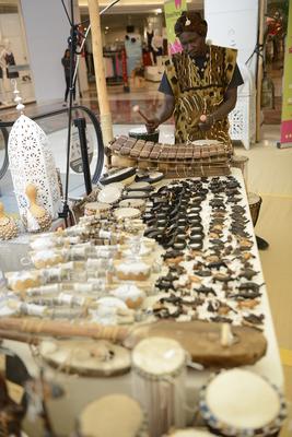 Marché artisanal malien et sénégalais 4