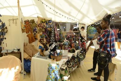 Marché artisanal malien et sénégalais 5