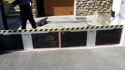 Installation batardeaux