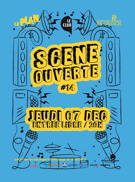 image de couverture de Scène Ouverte #14