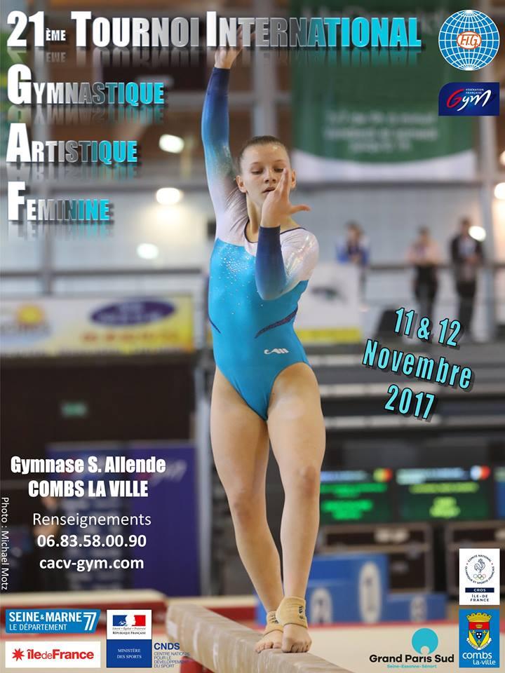 Tournoi International de Gymnastique Artistique Féminine - Portail sortir  GPS 9ac7bbc0eb1