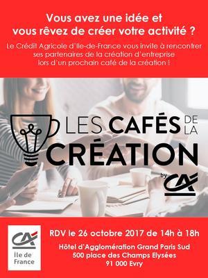 Café de la création - Flyer 1/2