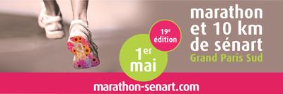 image de couverture de Marathon et 10km de Sénart Grand Paris Sud 2018