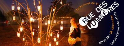 image de couverture de Lancement de la Rue des Lumières - Spectacle Incandescences - Jeudi 14 décembre