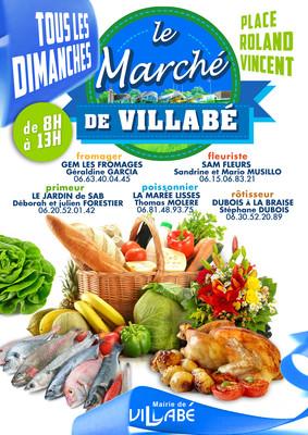 image de couverture de Le marché de Villabé