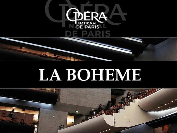 image de couverture de L'Opéra national de Paris aux Cinoches : retransmission de La Bohème de Puccini - Opéra