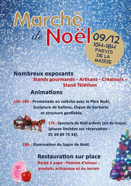 image de couverture de Marché de Noël le 9 décembre à Saint Pierre du Perray