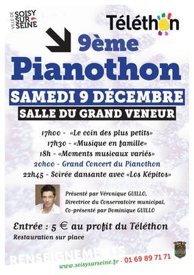 image de couverture de Téléthon 2017 : 9ème Pianothon de Soisy-sur-Seine