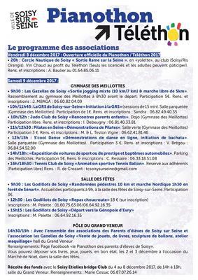 image de couverture de Le Téléthon 2017 à Soisy-sur-Seine