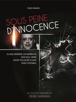 image de couverture de Sous peine d'innocence