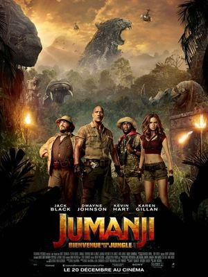 image de couverture de Jumanji : Bienvenue dans la jungle