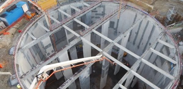 Cr ation de bassins de retention ris orangis for Bache pour bassin retention