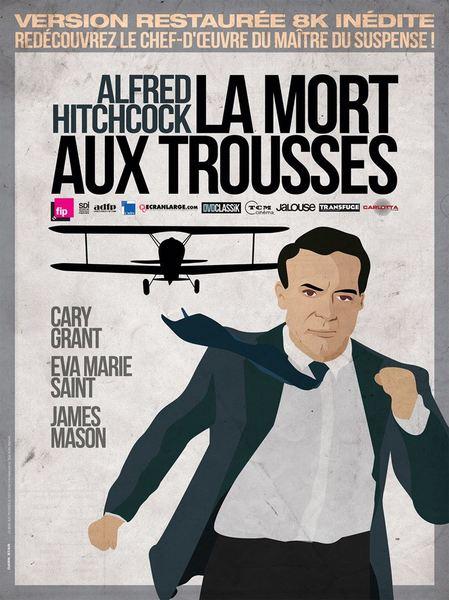 image de couverture de Ciné-club : La mort aux trousses remplace Sueurs froides