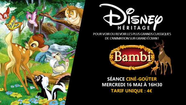 image de couverture de Ciné-Goûter : Bambi