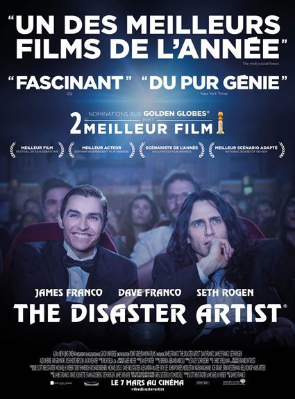 image de couverture de The disaster Artist