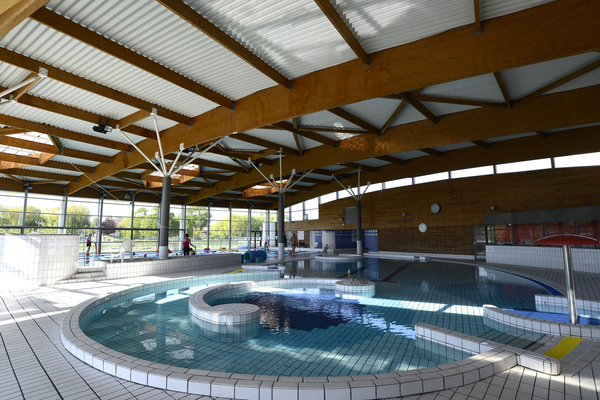 Centre aquatique nymph a for Piscine carre senart