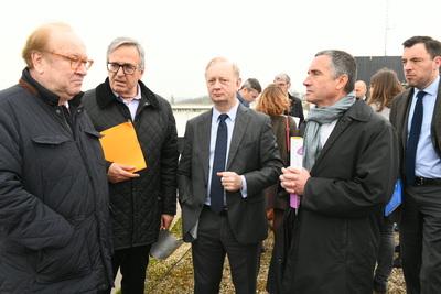 Visite de l'Hôpital Gilles de Corbeil