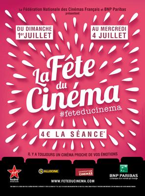 image de couverture de La fête du cinéma 2018 aux Cinoches