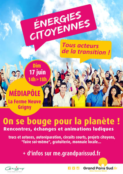 Affiche energies citoyennes