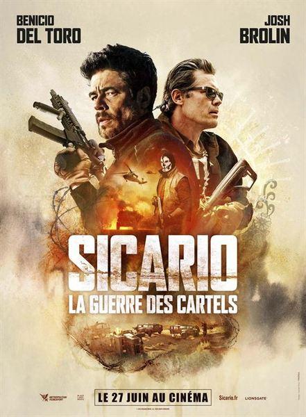 Sicario la guerre des cartels affiche