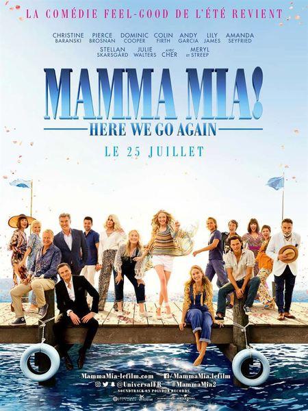 Mamma mia 2 affiche