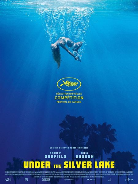 Under the silver lake affiche