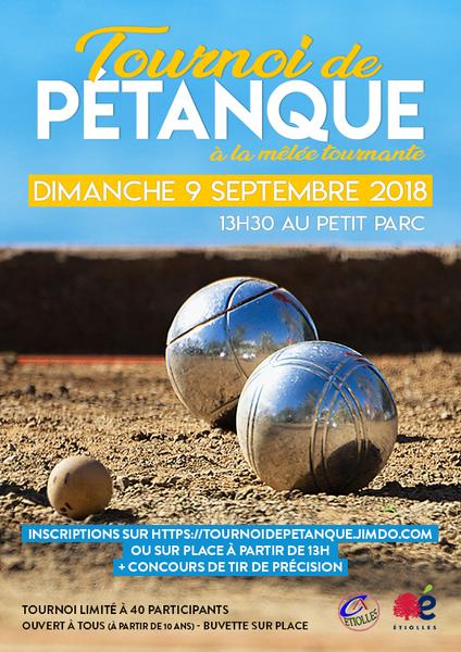 Affiche web tournoi petanque 2018