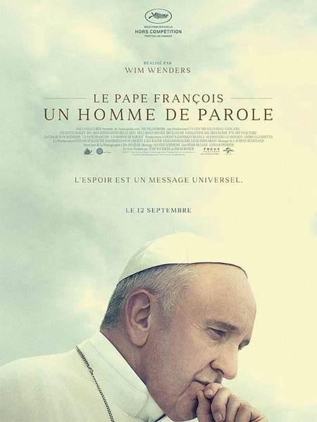 Le pape François un homme de parole affiche.jpg