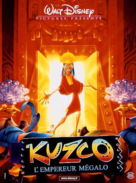 Affiche kuzco empereur m%c3%a9galo