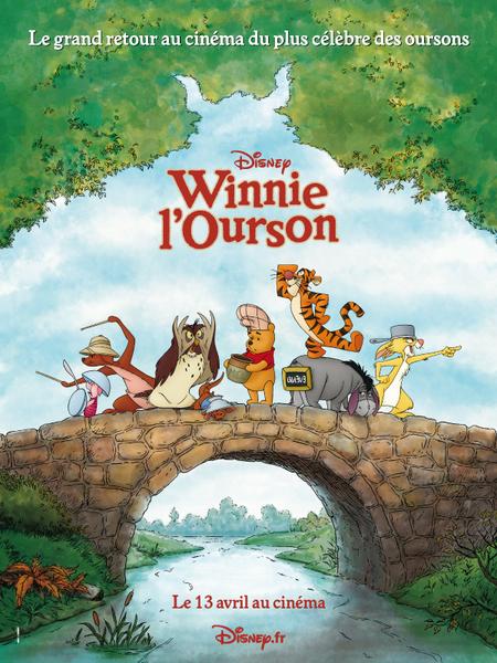 Winnie l ourson affiche