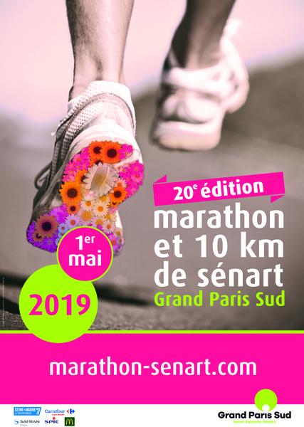 Affiche a3 marathon de s%c3%a9nart 2019 sans traits de coupe