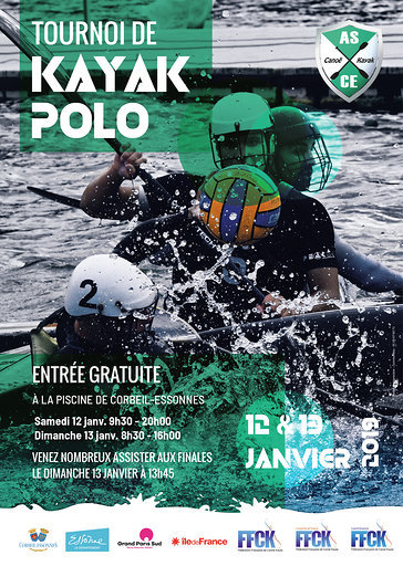 Asce ck affiche tournoi kayak polo 12 et 12 janvier 2019 %282%29