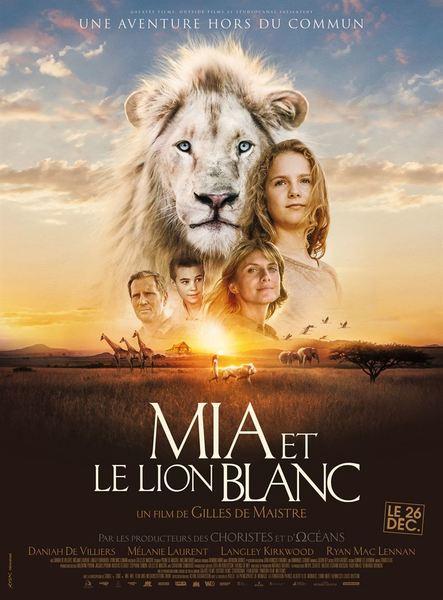Mia et le lion blanc affiche