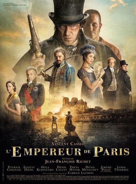 L empereur de paris affiche